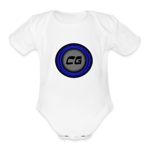 Clostyu Gaming Merch - Organic Short Sleeve Baby Bodysuit