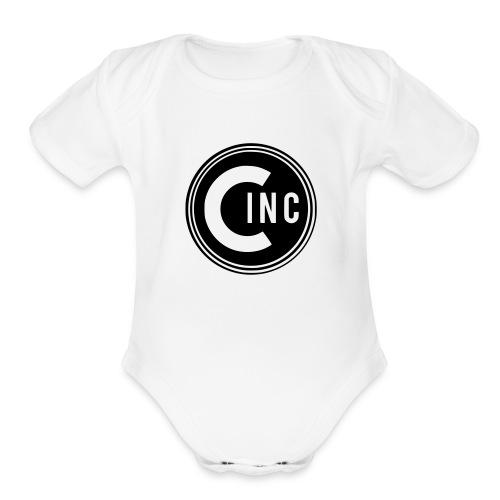Coasters Inc. Logo - Organic Short Sleeve Baby Bodysuit