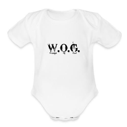 wog1 - Organic Short Sleeve Baby Bodysuit