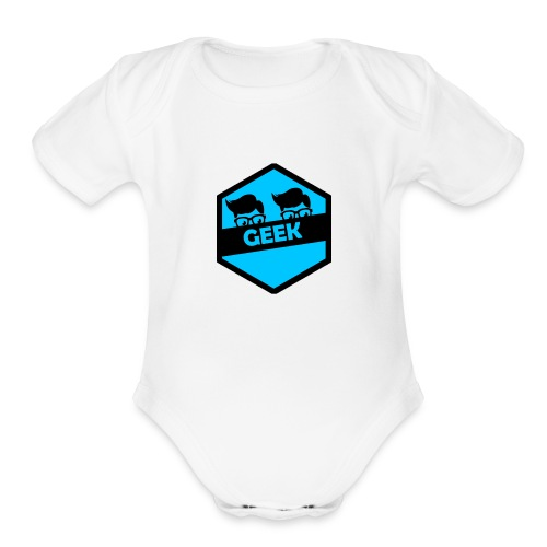 Team Geek - Organic Short Sleeve Baby Bodysuit