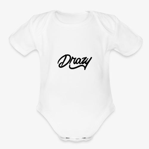 drazy signature - Organic Short Sleeve Baby Bodysuit