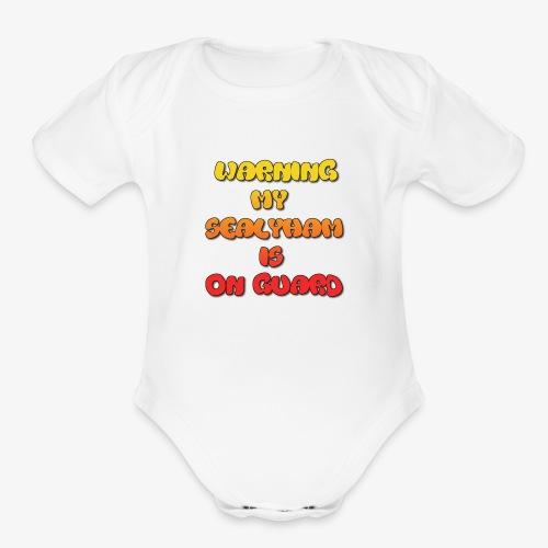 WMSIOG - Organic Short Sleeve Baby Bodysuit