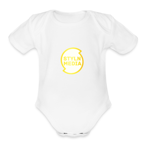 Limited Edition Styln Media! - Organic Short Sleeve Baby Bodysuit