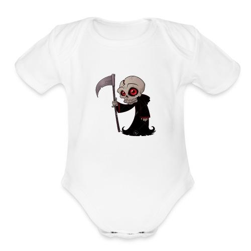 grimpuff - Organic Short Sleeve Baby Bodysuit