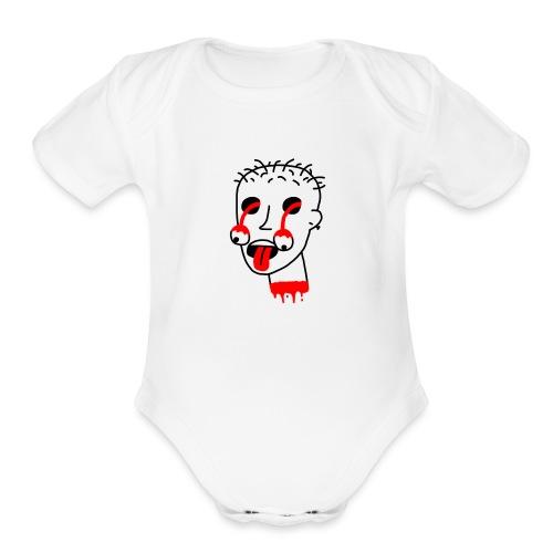 deadguyagain - Organic Short Sleeve Baby Bodysuit