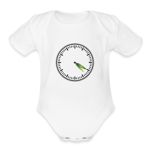 420 Time - Organic Short Sleeve Baby Bodysuit
