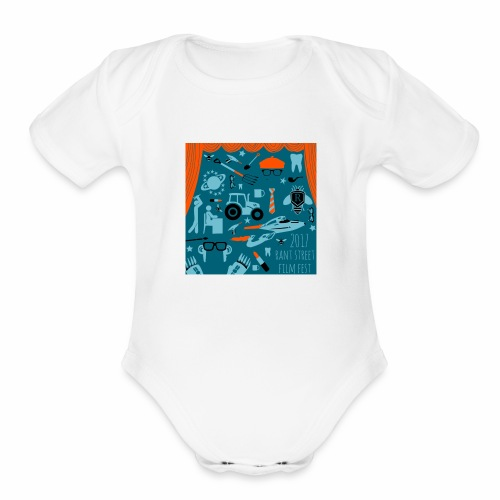 Rant Street Swag - Organic Short Sleeve Baby Bodysuit