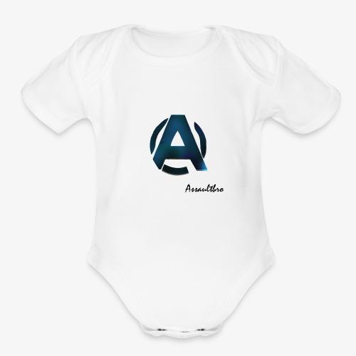 Assaultbro - Organic Short Sleeve Baby Bodysuit