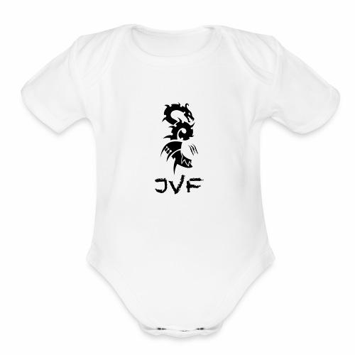 JVF Dragon Edition - Organic Short Sleeve Baby Bodysuit