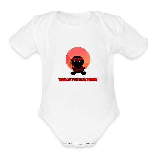 NFG Shirt Logo 2 - Organic Short Sleeve Baby Bodysuit