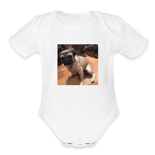 Gizmo Fat - Organic Short Sleeve Baby Bodysuit