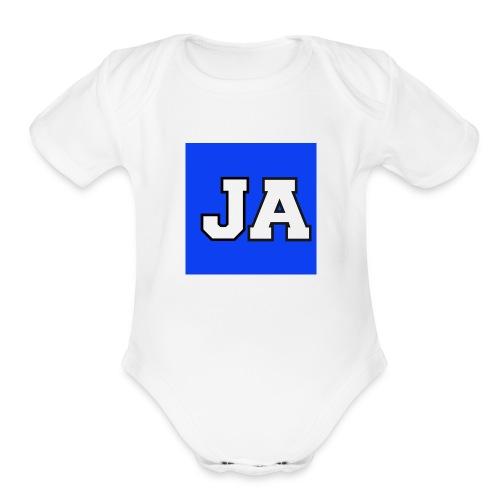 JoshuaAdamsMerchandise - Organic Short Sleeve Baby Bodysuit