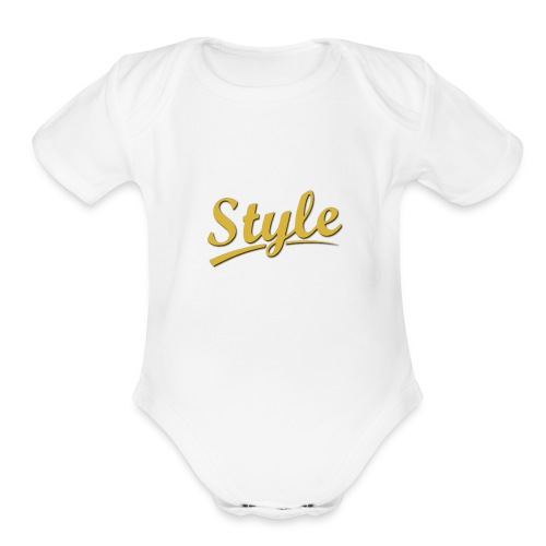 Step in style merchandise - Organic Short Sleeve Baby Bodysuit