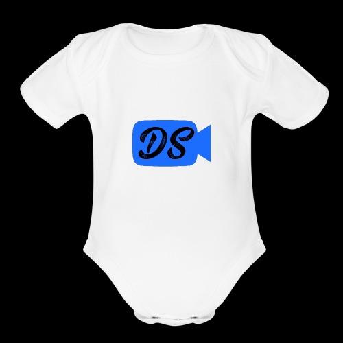 Devin Street - Organic Short Sleeve Baby Bodysuit
