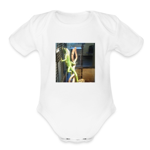 Reptile t shirt - Organic Short Sleeve Baby Bodysuit