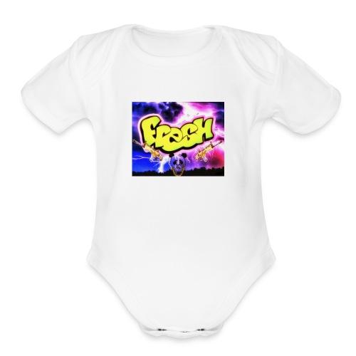 FreshGangsta - Organic Short Sleeve Baby Bodysuit