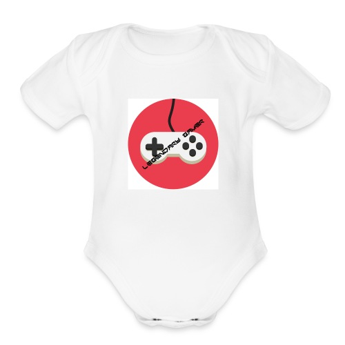 Legendary Gamer - Organic Short Sleeve Baby Bodysuit
