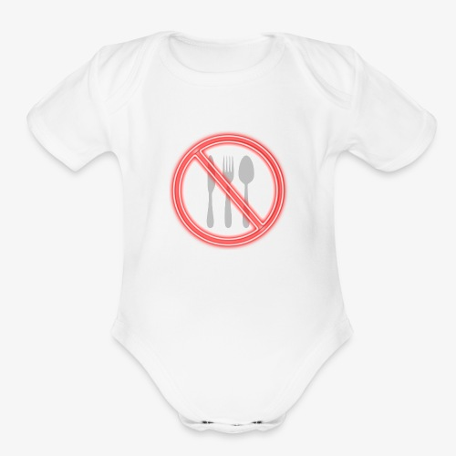 Don't eat - Organic Short Sleeve Baby Bodysuit