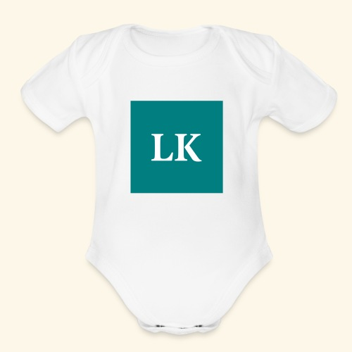 lk icon 2x - Organic Short Sleeve Baby Bodysuit