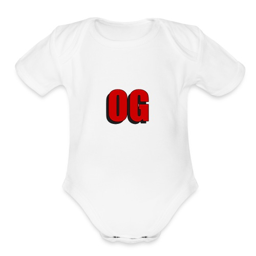 OG merch line - Organic Short Sleeve Baby Bodysuit