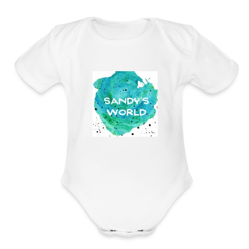 Sandy's World - Organic Short Sleeve Baby Bodysuit