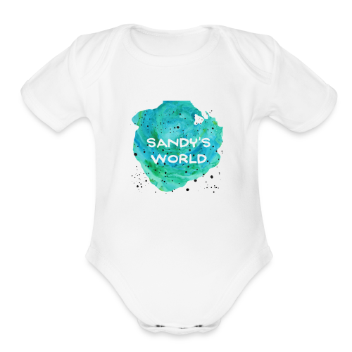 Sandy's World - Organic Short Sleeve Baby Bodysuit