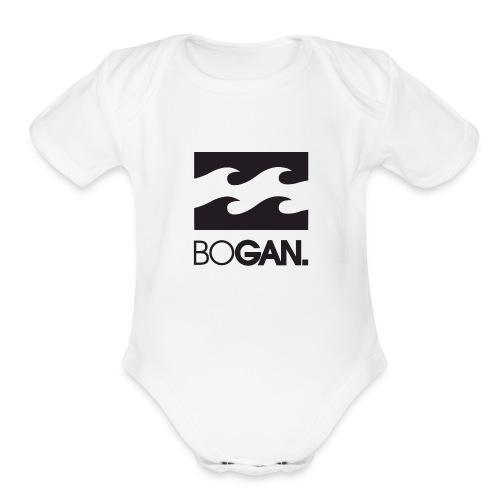 BOGAN STYLE. - Organic Short Sleeve Baby Bodysuit
