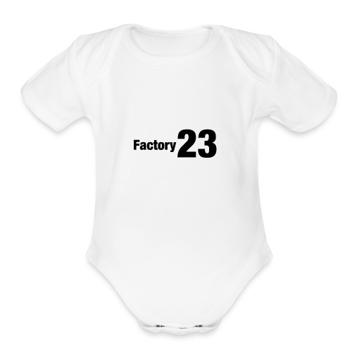 Factory 23 - Organic Short Sleeve Baby Bodysuit