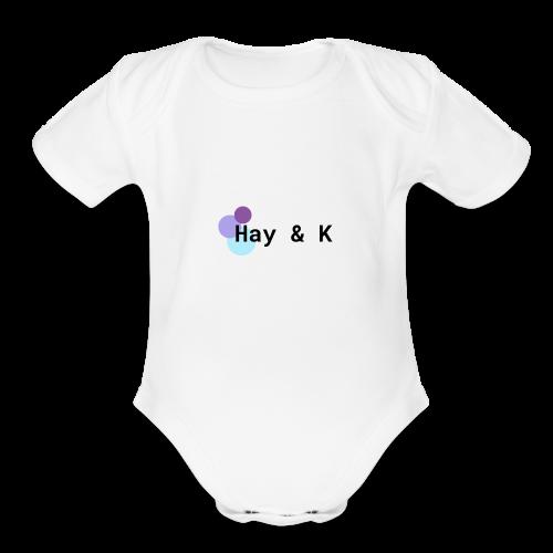 Hay & K - Organic Short Sleeve Baby Bodysuit
