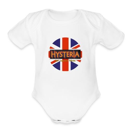 Hysteria - Organic Short Sleeve Baby Bodysuit