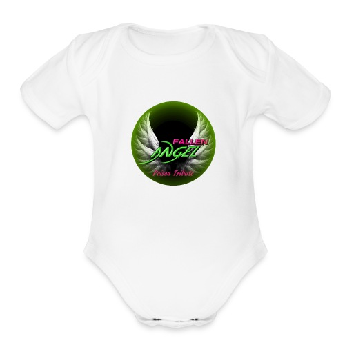 Fallen Angel - Organic Short Sleeve Baby Bodysuit