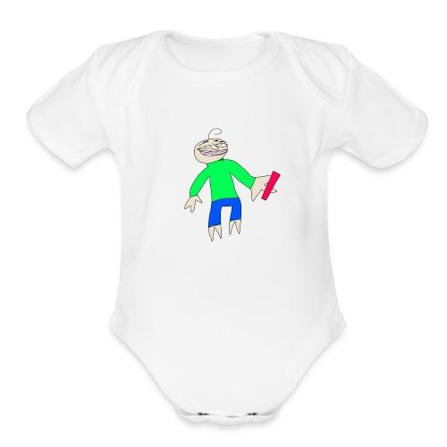 BALDIS BASICS - Organic Short Sleeve Baby Bodysuit