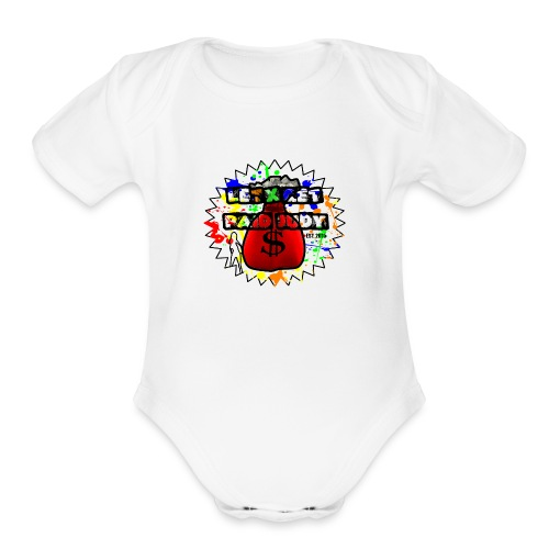 Letx Get Paid Judy Clothing - Organic Short Sleeve Baby Bodysuit