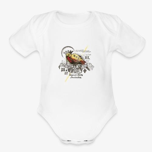 ORIGINAL VINTAGE APPAREL - Organic Short Sleeve Baby Bodysuit