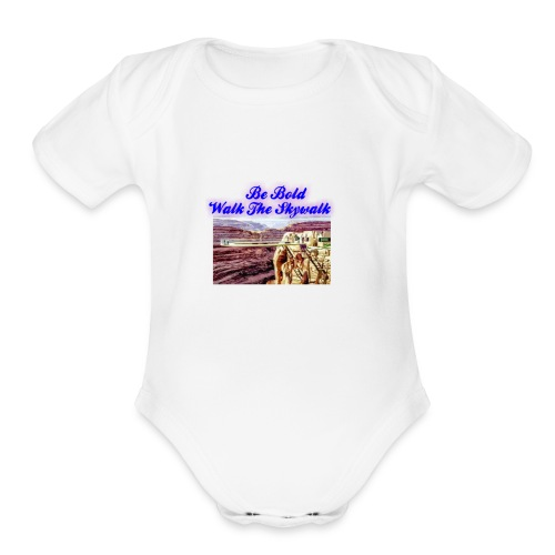MyLogo20180816213759 4096x4096 - Organic Short Sleeve Baby Bodysuit