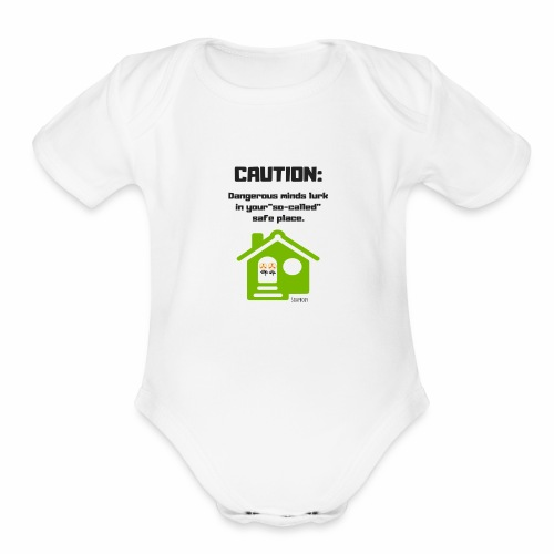 Dangerous minds - Organic Short Sleeve Baby Bodysuit