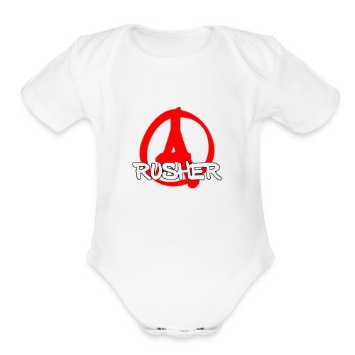 CS:GO A Rusher - Organic Short Sleeve Baby Bodysuit