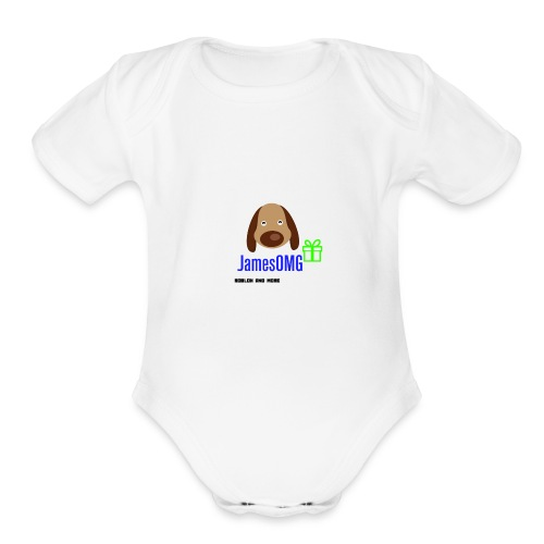 James Merch - Organic Short Sleeve Baby Bodysuit