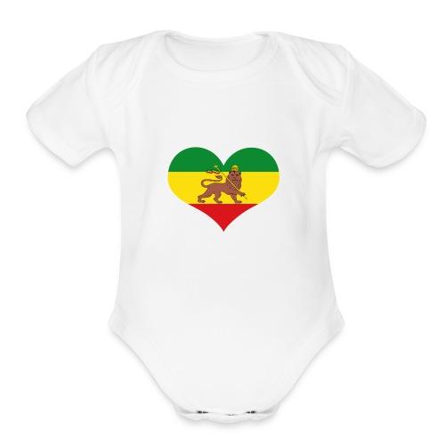 vps Logo - Organic Short Sleeve Baby Bodysuit