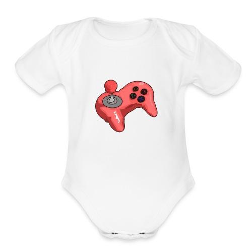 Game Console - Organic Short Sleeve Baby Bodysuit