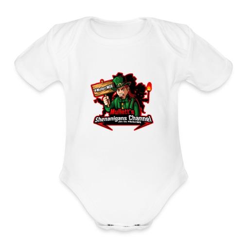#MullettMOB MERCH - Organic Short Sleeve Baby Bodysuit