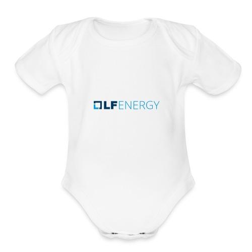 LF Energy Color - Organic Short Sleeve Baby Bodysuit