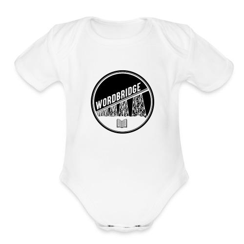 WordBridge Conference Logo - Organic Short Sleeve Baby Bodysuit