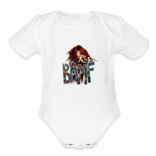 phoenix png - Organic Short Sleeve Baby Bodysuit