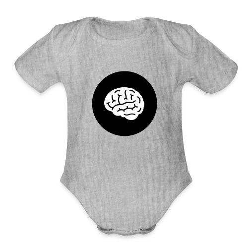 Leading Learners - Organic Short Sleeve Baby Bodysuit