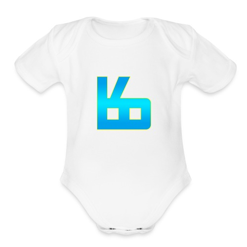 The Bunny - Organic Short Sleeve Baby Bodysuit