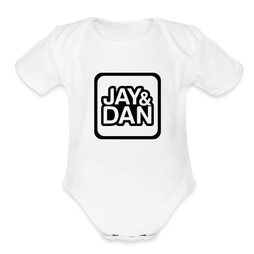 Jay and Dan Baby & Toddler Shirts - Organic Short Sleeve Baby Bodysuit