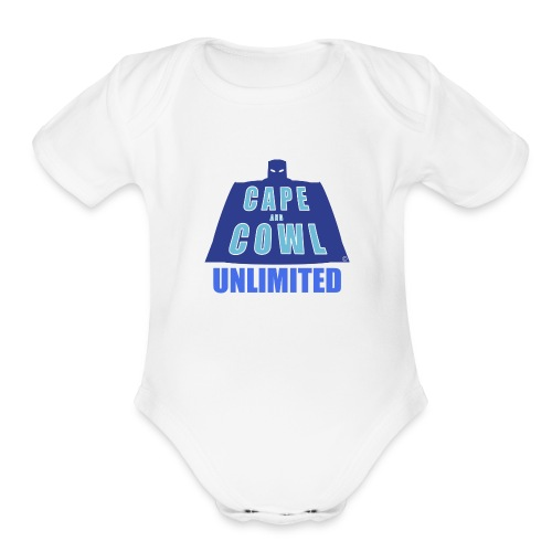 Cape and Cowl Unlimited - Organic Short Sleeve Baby Bodysuit