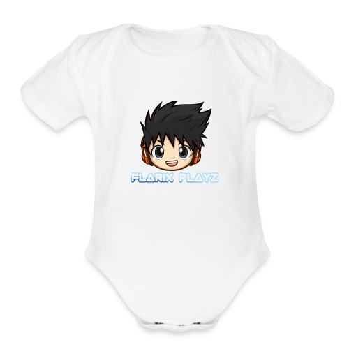 Official Flarix Playz - Organic Short Sleeve Baby Bodysuit