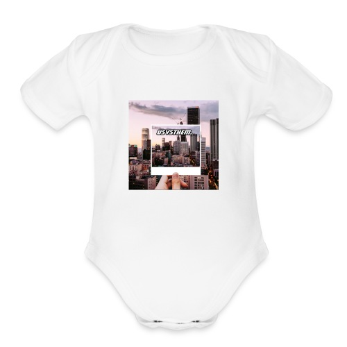 Skyline Poloraoid series - Organic Short Sleeve Baby Bodysuit